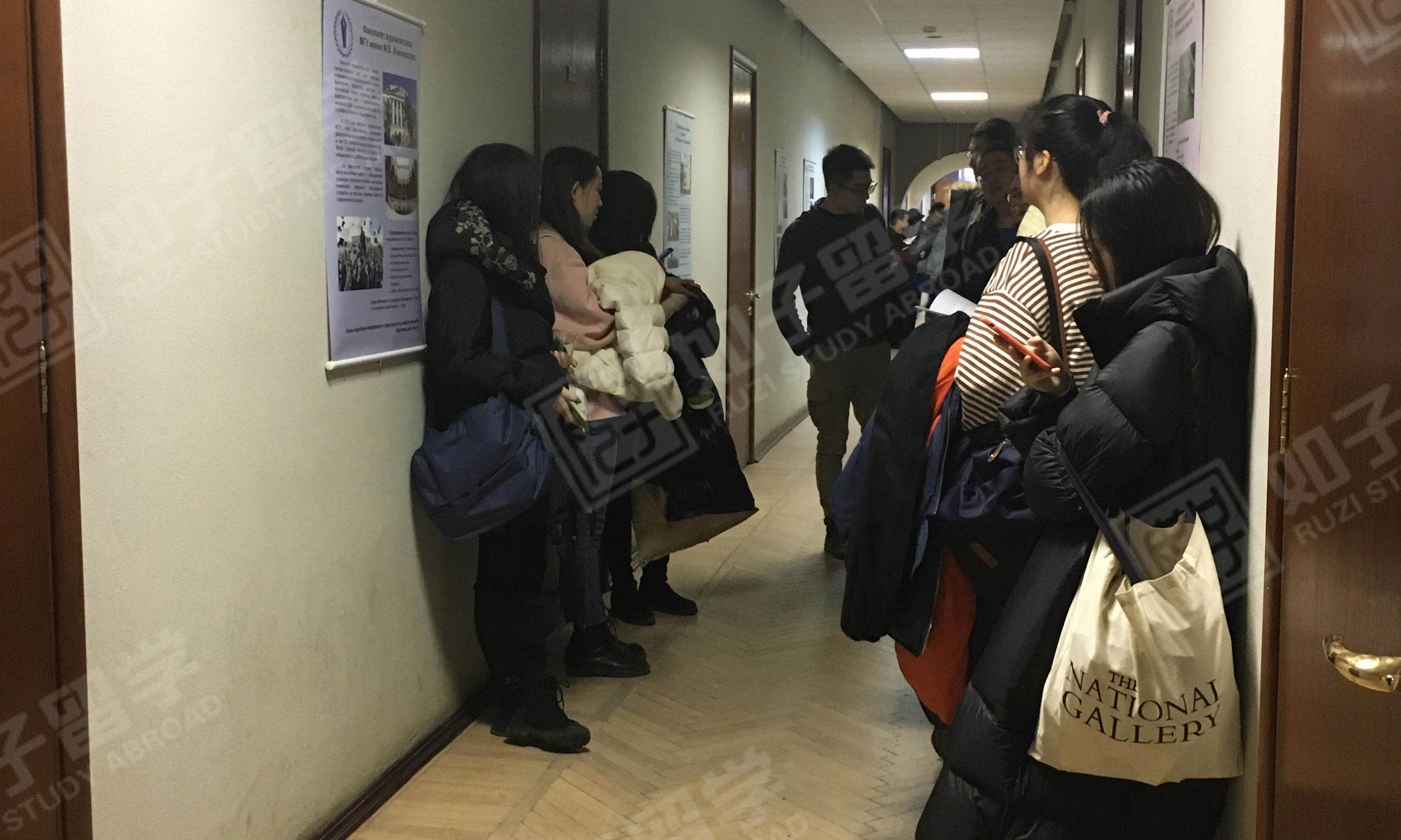 【如子留学】孩子们正在冬考